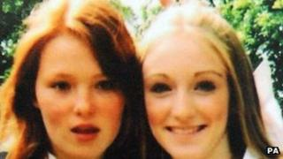 Charlotte Thompson and Olivia Bazlinton