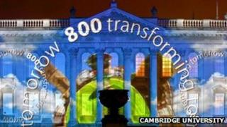 Cambridge 800 lightshow image