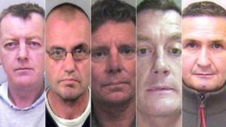 (LtoR) Mark Gyles, James Fyfe, Michael Matthews, John Humphreys, Kevin Eddishaw