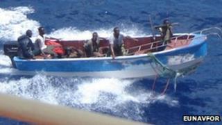 Pirates off Somalia