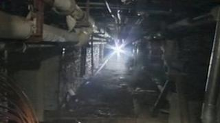 Tunnels under St Lawrence's Hospital