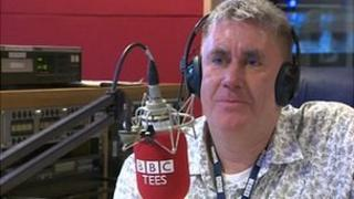 BBC Tees breakfast presenter Ali Brownlee