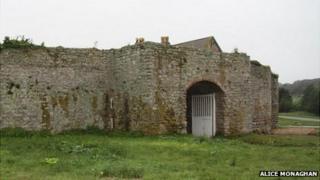 Gatehouse of the Nunnery in Alderney