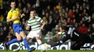 Celtic v Dunfermline