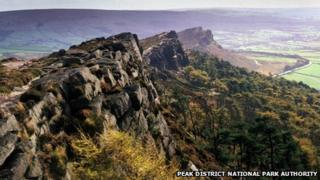 The Roaches estate in the Peak District National Park