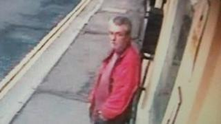 CCTV image of Keith Thompson: Devon and Cornwall Police