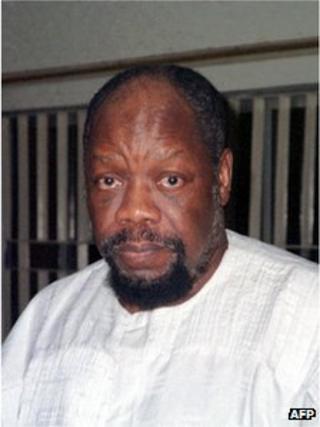 Former Biafra war leader Emeka Odumegwu Ojukwu (file pic)