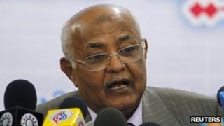 Mohammed Basindwa - 13 December 2010 file photo