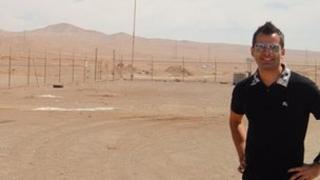 George Cadena in the Atacama desert