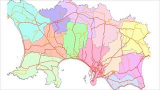 Jersey heat loss map
