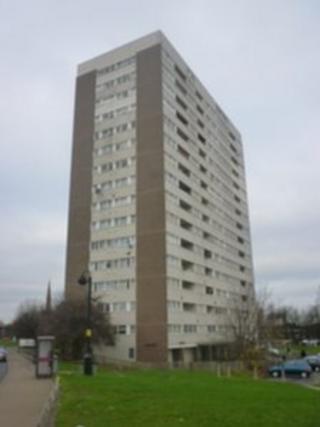 Osborne Tower in Aston