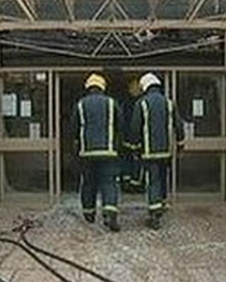 Wellingborough medical centre hit by fire