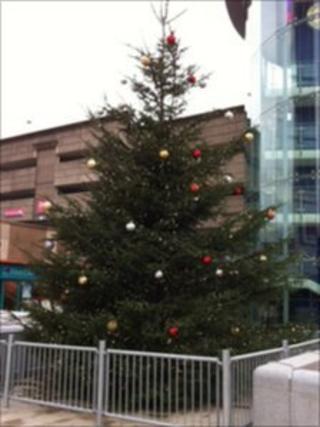 Blackburn Christmas tree