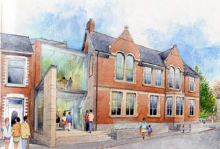 Architect's impression of Newbridge Memo restoration