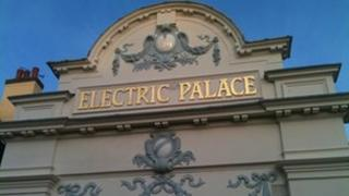 Exterior of the Electric Palace cinema in Harwich