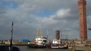 Grimsby docks
