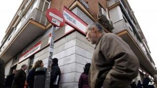 Spanish unemployment office
