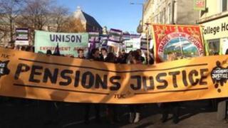 March in Bristol