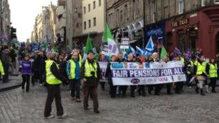 Edinburgh march
