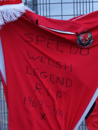 A shirt left at Wrexham FC