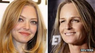Amanda Seyfried and Helen Hunt
