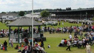 Main showground at Great Yorkshire Show