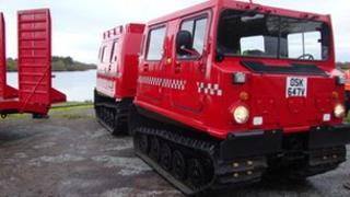 Haggland amphibious personnel carrier