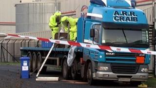 Kirkhill Drive incident scene
