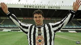 Gary Speed at Newcastle United