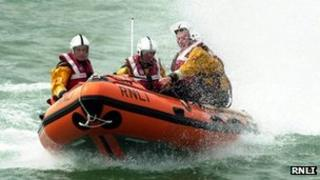 RNLI D-Class lifeboat