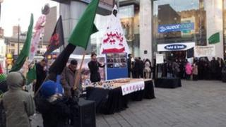 Ashura event in Leicester