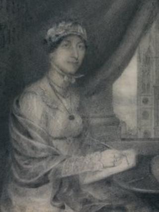 Jane Austen's previously unseen portrait