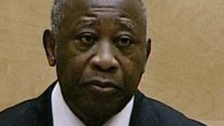 Laurent Gbagbo in court