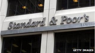 The Standard and Poor's sign