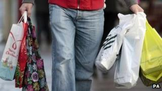 High Street shopper