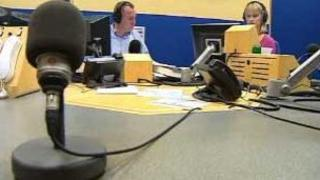 Jamie Owen and Louise Elliot on Radio Wales
