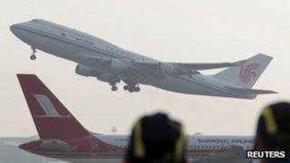 An Air China Boeing