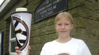 Student from Thorneyholme School