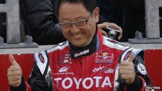 Toyota Motor Corporation President and Chief Executive Akio Toyoda