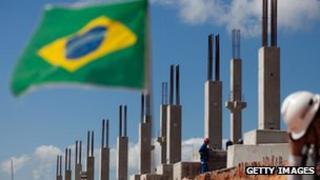 Brazilian building site