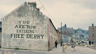 "In 1972 there were a number of ""no go areas"" for the British army in Derry"