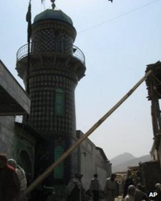 The Abu Fazal shrine