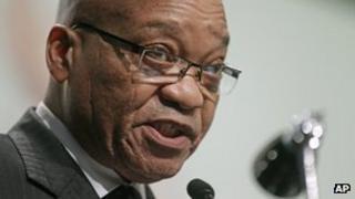 South African President Jacob Zuma (Image: AP)