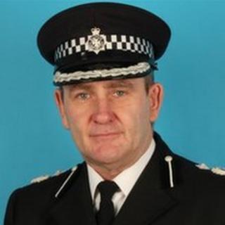Patrick Geenty, Deputy Chief Constable for Wiltshire Police