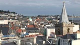 St Helier roofs
