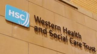 Western Health and Social Care Trust sign