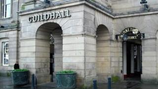 Guildhall market in Derby