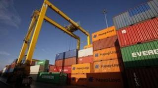 Dublin Port freight