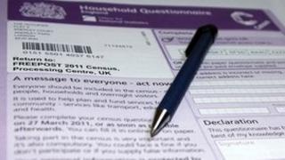 2011 UK census form