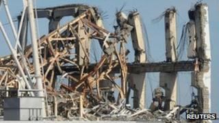 Damage at Fukushima reactor